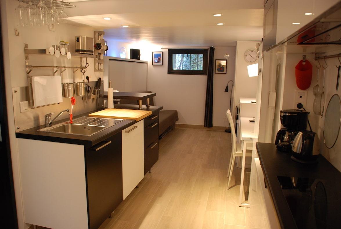 appartement studio meublé versailles genet parking
