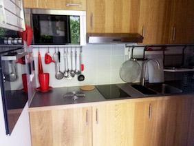 appartement studio meublé versailles coquelicot cuisine