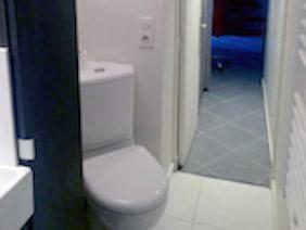 appartement studio meublé versailles coquelicot toilette