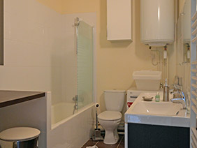 furnished apartement versailles Dalhia Bathroom
