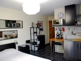 appartement studio meublé versailles edelweiss salon