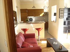 appartement meublé versailles Fushia salon
