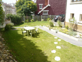 furnished apartement versailles Fushia Garden