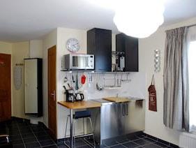 appartement studio meublé versailles genet cuisine