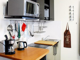 appartement studio meublé versailles genet cuisine 2