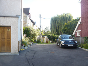 furnished apartement studio versailles Genet parking