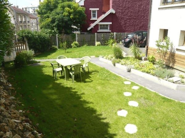 appartement studio meublé versailles residence jardin